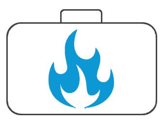 Koffer für Brandschutz
