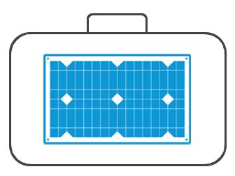 Koffer für Solartechnik