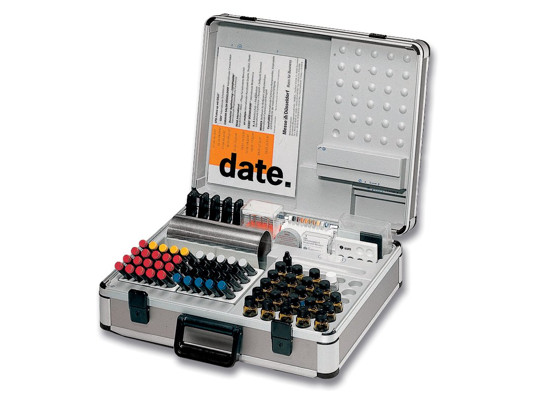 Präsentationskoffer für Medizinprodukte