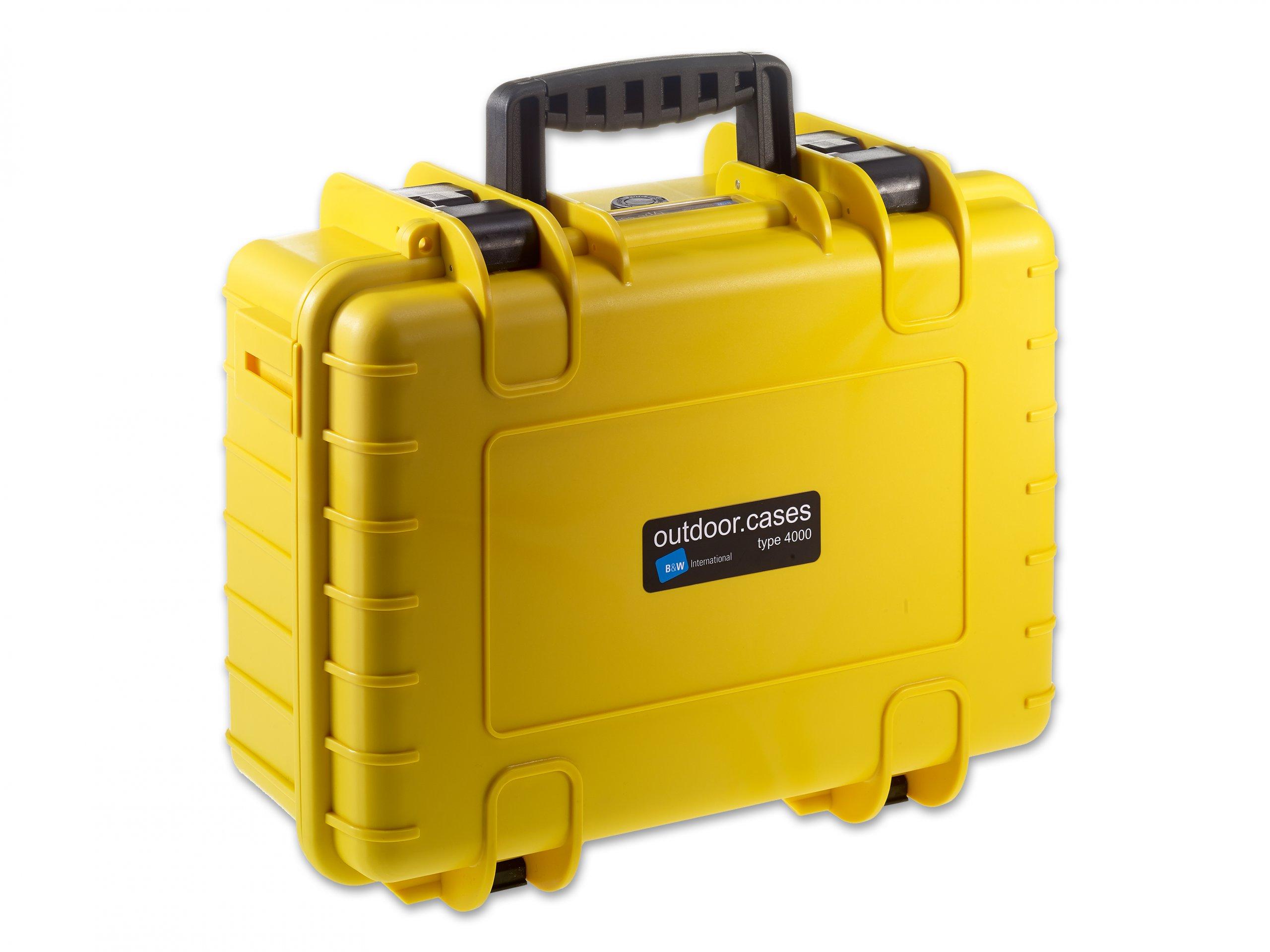 Outdoor Case 4000 gelb