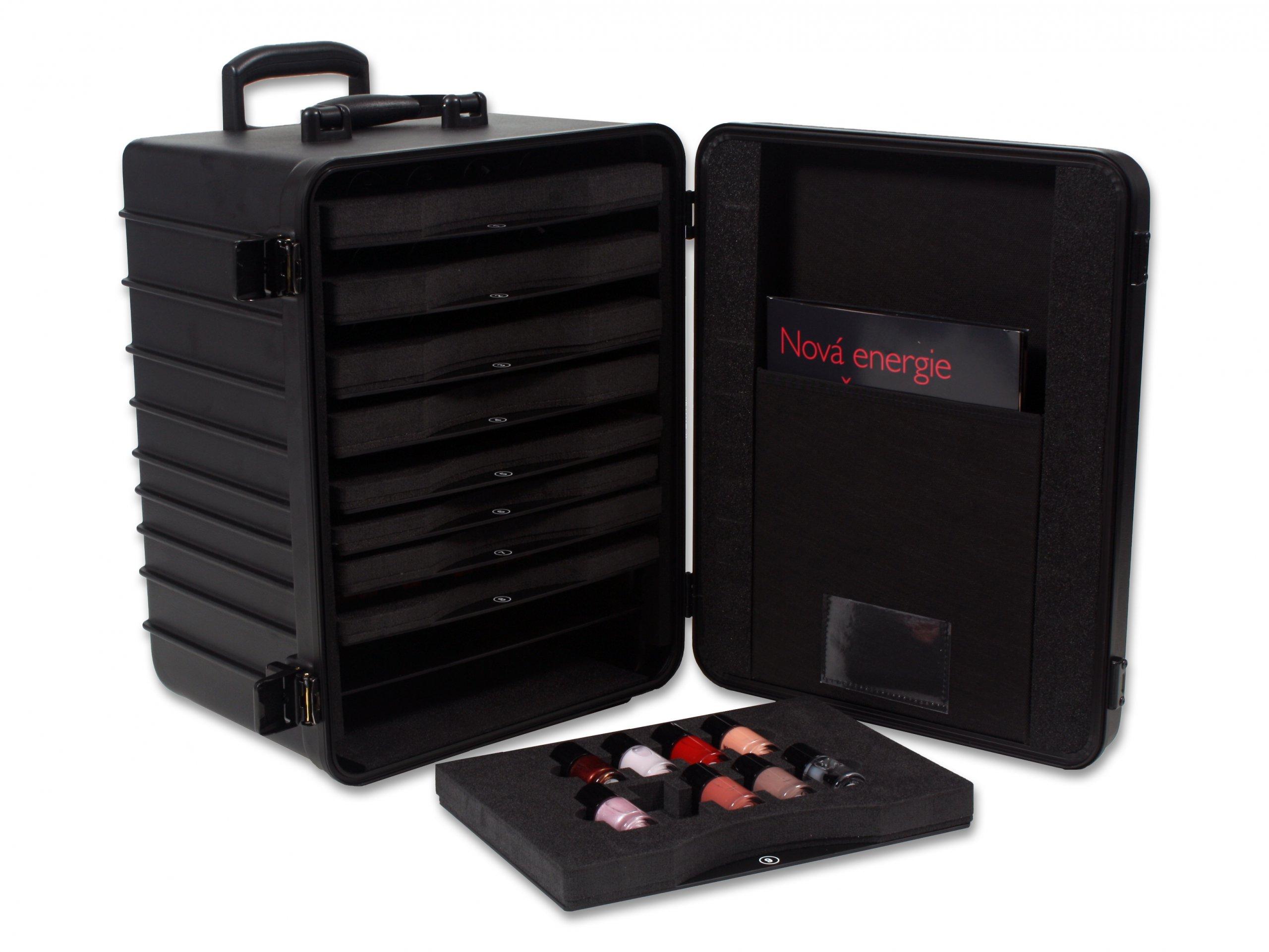 Präsentationskoffer für Kosmetik