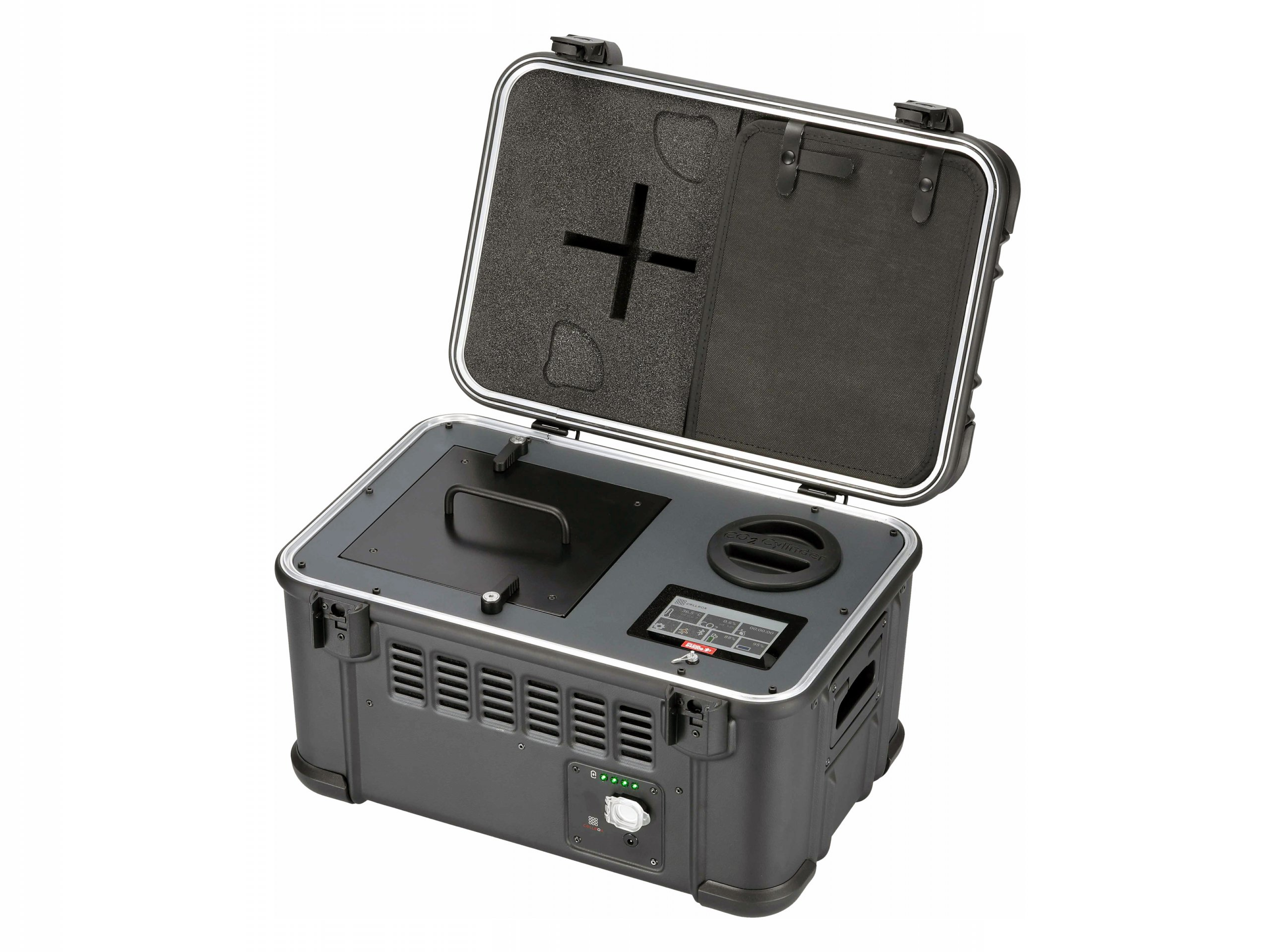 Transport case for live cell cultures