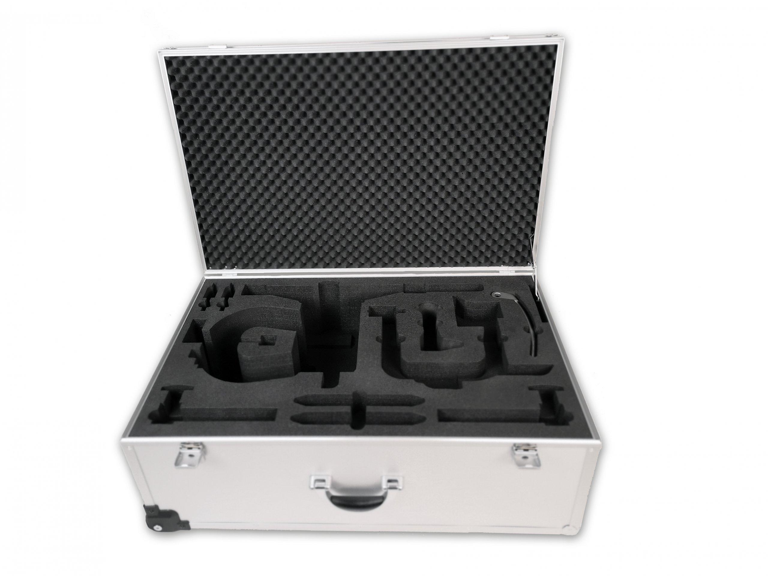Presentation case for surgical instruments