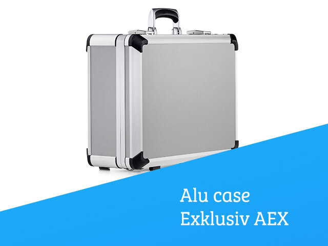 Aluminium case Exklusiv AEX