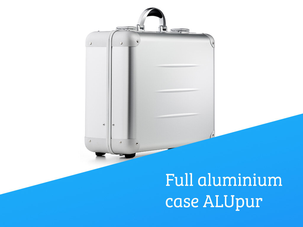 Full aluminium case ALUpur