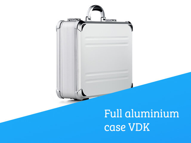 Full aluminium case VDK