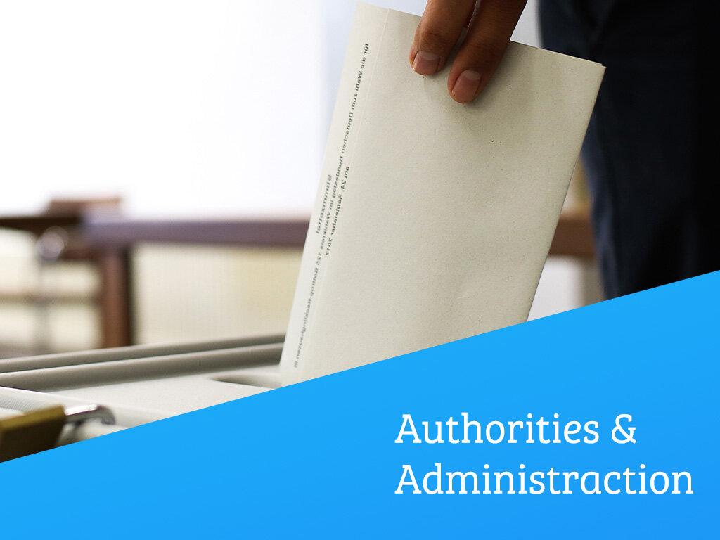 Authorities & Administration