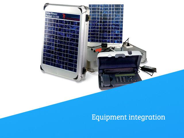 Equipment integration