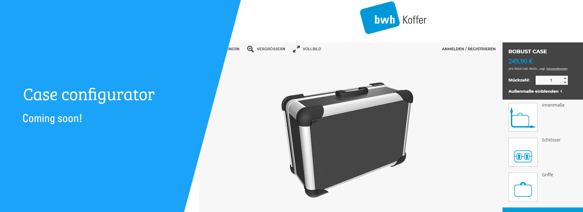 Case configurator